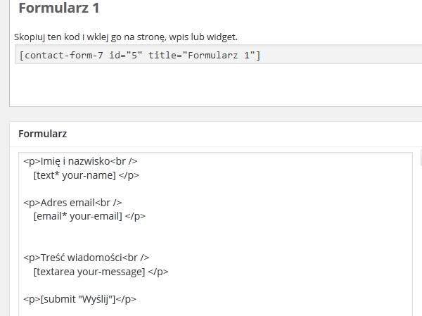 wtyczki do wordpress formularz kontaktowy