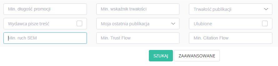 opcje zaawansowane w wyszukiwarce whitepress