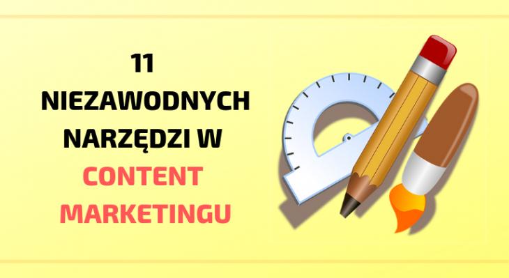 narzędzia w content marketingu